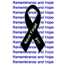 Rememberance and Hope 9/11 Ribbon